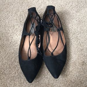 """Steve Madden """"le crew"""" lace-up flat"""